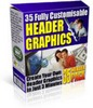 Thumbnail 35 Header Graphics Package MRR!