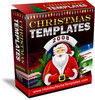 Thumbnail Christmas Templates with MRR