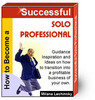 Thumbnail how to become a sucessful solo professional ebook