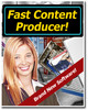 Fast Content Producer With MRR