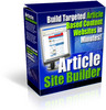 Article Site Builder With MRR