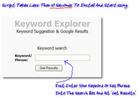 Thumbnail Keyword Explorer - Instant Keyword Research Tool With MRR