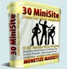 Thumbnail 30 MiniSite Templates With MRR