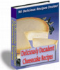 Thumbnail Deliciously Decadent Cheesecake Recipe Ebook With MRR