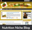 Thumbnail Nutrition Niche Blog