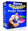 Thumbnail Easy Squeeze Page Tester - Software with MRR