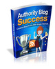 Thumbnail Authority Blog Success - eBook with MRR
