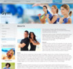 Thumbnail Gym Fitness Website Templates, PLR Included!
