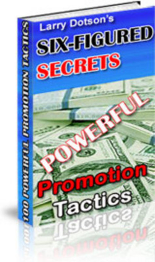 Product picture 100 Powerful Promotion Tactics!  Set up a joint venture with