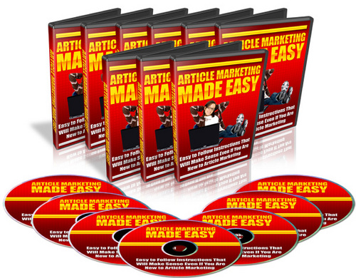 Product picture Articles Marketing Made Easy MRR