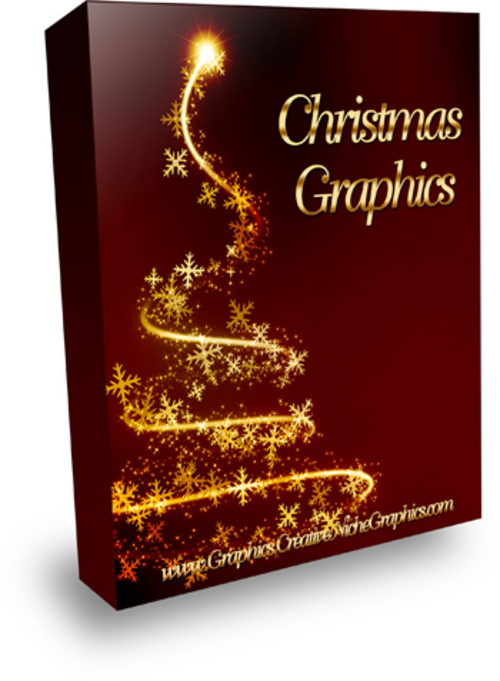 Product picture Christmas Graphics with MRR!