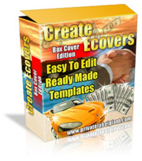 Product picture Software Box Creator PLR