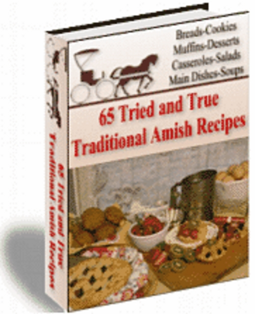Product picture 65 Tried And True Traditional Amish Recipes with MRR