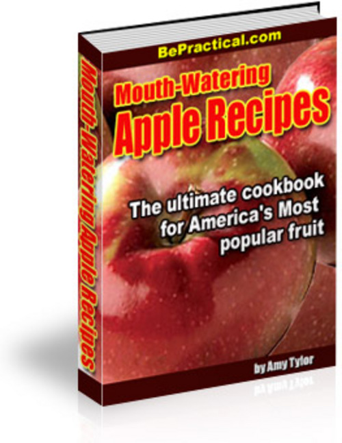 Product picture Mouth-Watering Apple Recipes With MRR