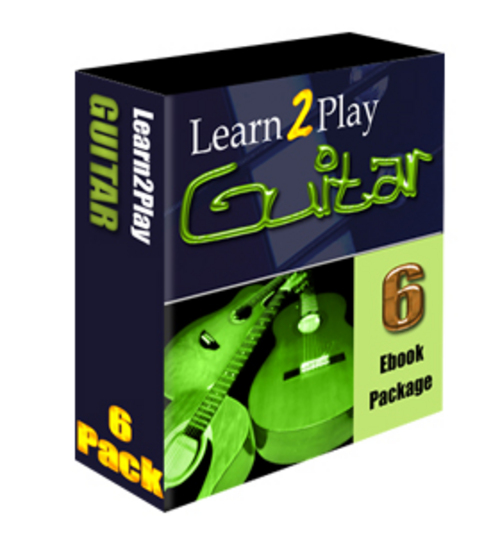 Product picture Learn to Play Guitar Saleskit 6 Ebooks