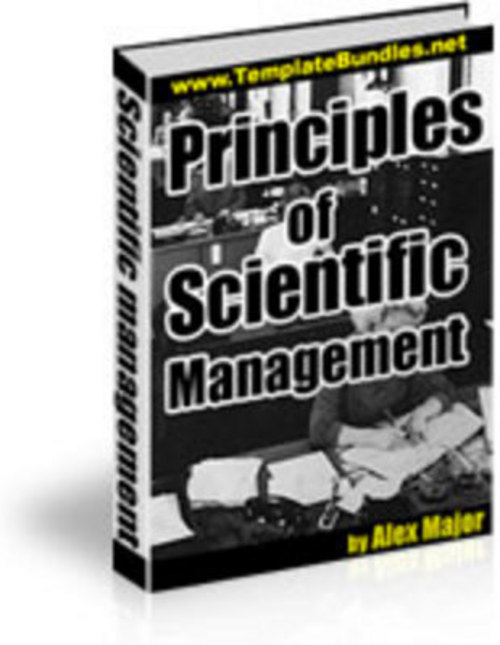 Product picture The Principles of Scientific Management