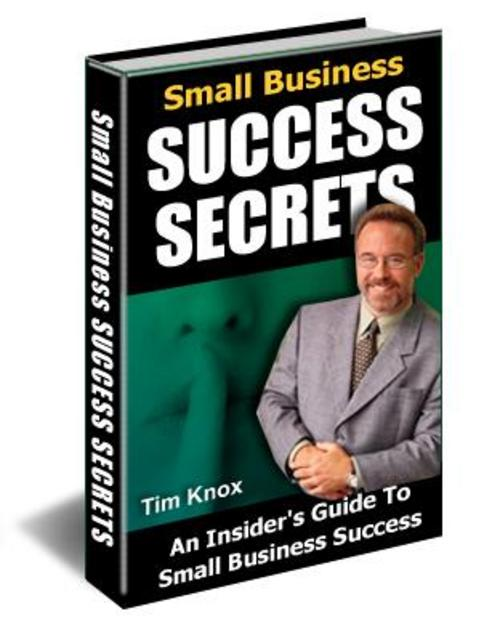 Product picture Small Business Success Secrets With MRR