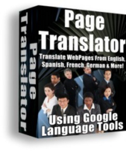 Product picture Page Translator, Translate Webpages With MRR