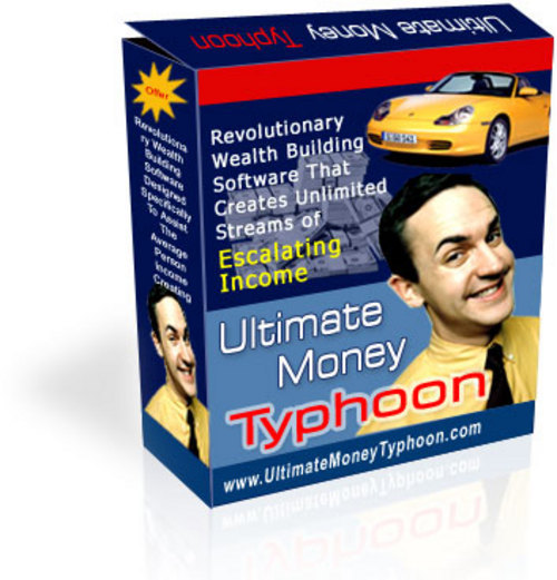 Product picture Ultimate Money Typhoon Software