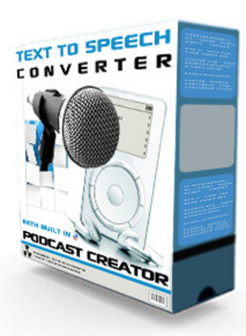 Product picture Text To Speech Converter And Podcast Creator With MRR