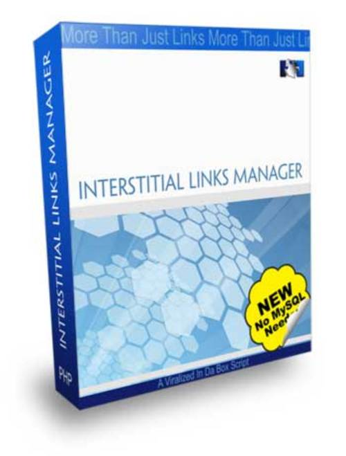 Product picture Interstitial Links Manager With MRR