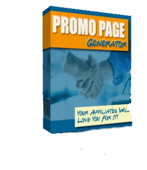 Product picture Promo Page Generator With MRR