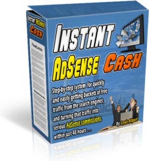 Product picture Instant Adsense Cash With MRR