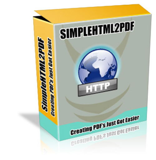 Product picture SimpleHTML2PDF - Php Script