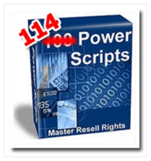 Product picture 114 Power Scripts With MRR