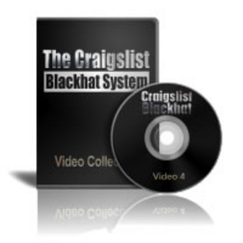 Product picture Craigslist Blackhat - Video 4 - Creating Hidden Text Ads