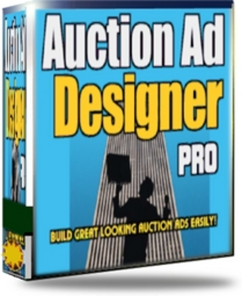 Product picture Auction Ad Designer PRO With MRR