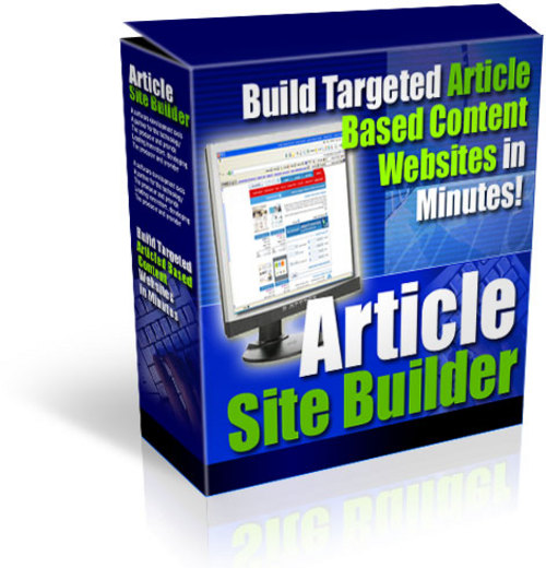 Product picture Article Site Builder With MRR