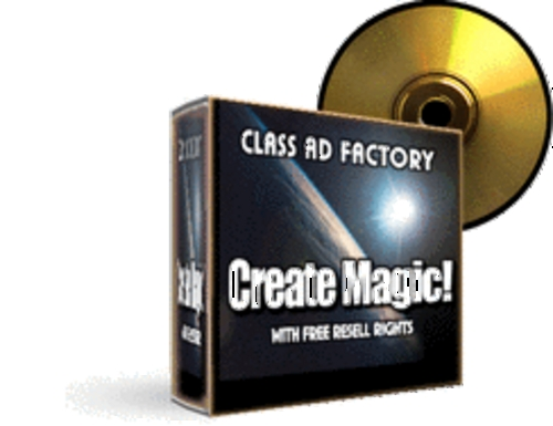 Product picture Class Ad Factory With MRR