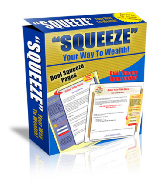 Product picture Squeeze Your Way To Wealthe With PLR