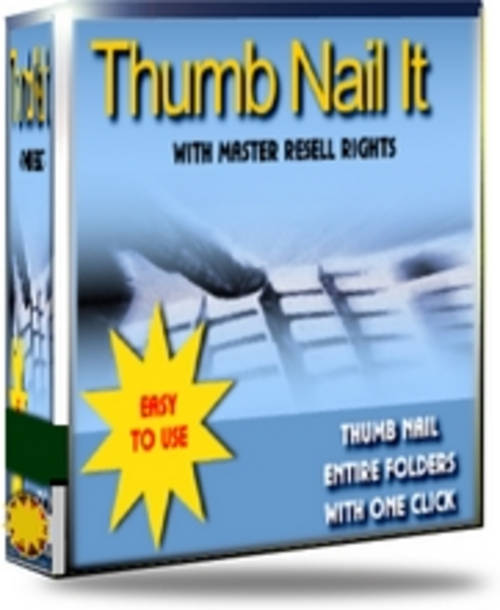 Product picture Thumb Nail It With MRR