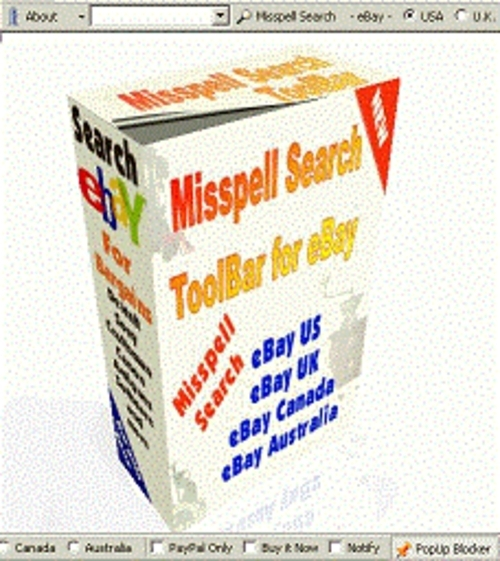Product picture eBay Mispelt Word Search Engine Software