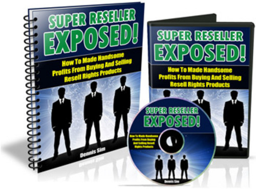 Product picture Super Reseller Exposed With MRR