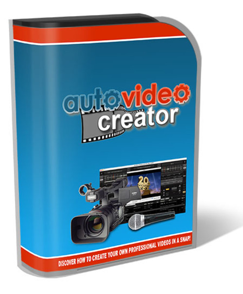 Product picture Auto Video Creator 2014