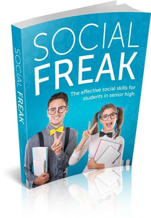 Product picture Social Freak - The Effective Social Skills For Students In S