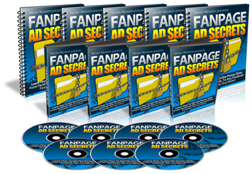 Product picture Fanpage Ad Secrets - Facebook Marketing PLR Videos Ebook
