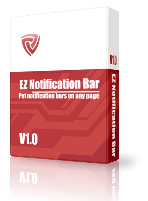 Product picture EZ-Notification Bar Maker